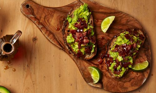 Love avocado toast? This maple bacon avo toast recipe is the ultimate brunch upgrade