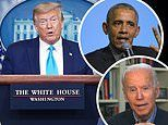 Poll: Trump is handling coronavirus better than Biden if he were president but Obama would be better
