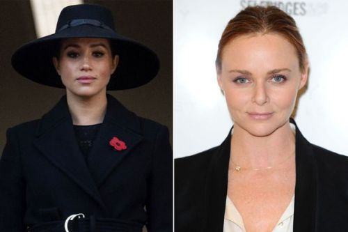 Stella McCartney slammed for using photo of Meghan Markle at Remembrance service to flog coats