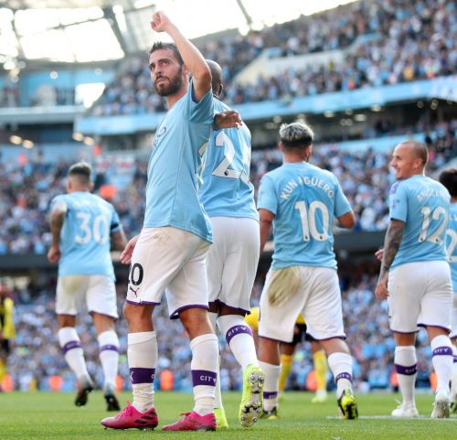 Bernardo Silva cracks hat-trick as City bounce back from Norwich horror show to smash hopeless Watford