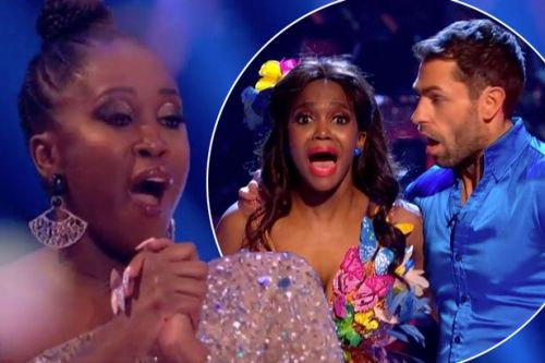 Strictly judge Motsi Mabuse breaks down over sister Oti's win with Kelvin Fl