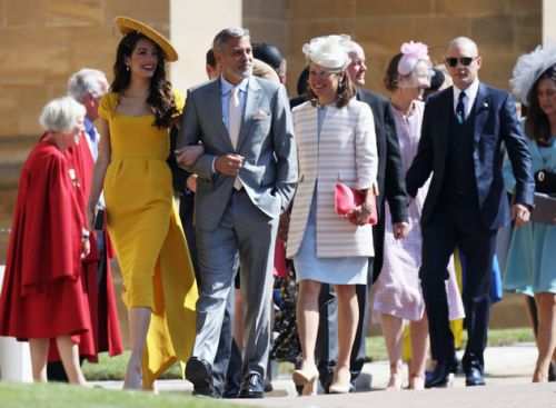 Royal Wedding: Celebrity Guest Tom Hardy Looks Rather Different To His Usual Self