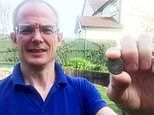 University lecturer digs up medieval silver coin dating back 660 years in his garden
