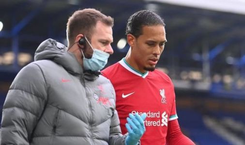 Liverpool told of 'good news' on Virgil van Dijk injury after Jordan Pickford collision
