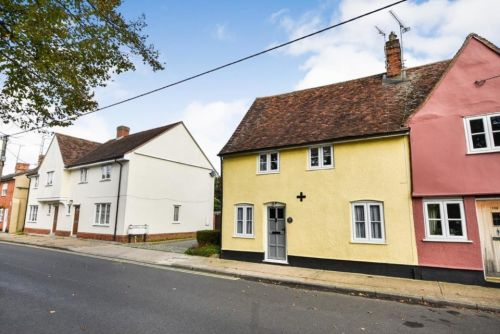 Suffolk cottage on sale for just £289,500 but it has a TOILET at the foot of the bed