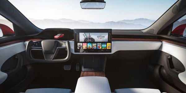 Tesla unveils refreshed Model S complete with an airplane-like steering wheel and an extra screen