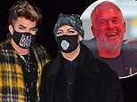 Boy George, Adam Lambert and Chris Moyles enjoy an evening out at Nobu