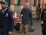 XPT passenger led away by police after trying to do boltat Central Station