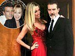 Antonio Banderas reveals he adores his stunning girlfriend because she's rather dull