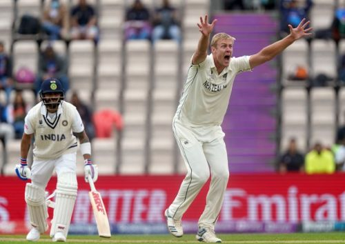 Kyle Jamieson puts New Zealand in control with bowling masterclass against India
