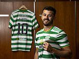 Celtic complete the signing of Swiss striker Albian Ajeti for an undisclosed fee from West Ham