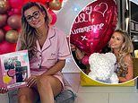 Pregnant Dani Dyer celebrates her 24th birthday with surprise from boyfriend Sammy Kimmence
