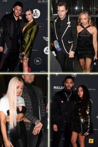Little Mix head to The Brit Awards after party 2019 with their boyfriends - as they slip into third outfit of the evening