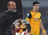 Wolves boss Nuno Espirito Santo 'positive' Raul Jimenez WILL play for the club again