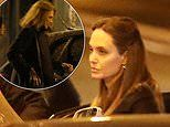 Angelina Jolie is as chic as ever as she heads to dinner with godmother Jacqueline Bisset in Paris