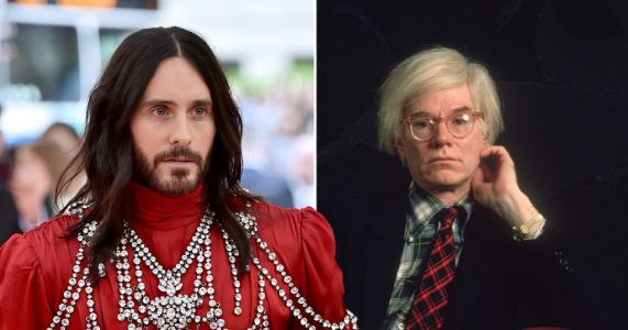 Jared Leto confirms he's set to play Andy Warhol in upcoming movie