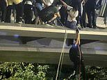 Students stage daring escape from Hong Kong university amid fears of police crackdown