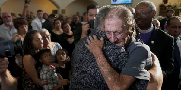 A man lost his wife in the El Paso Walmart shooting, then his car was stolen during her funeral. His community came together to replace it