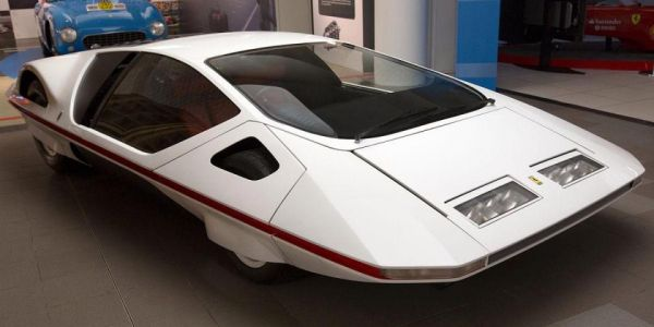 Unique Jetsons-style Ferrari 512S Modulo concept car is the most bizarre motor from the 1970s