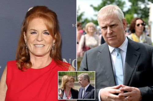 Sarah Ferguson shares relaxed photo of Prince Andrew at home on 60th birthday