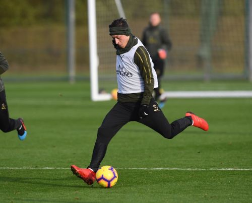 Mesut Ozil promises Arsenal fans to continue working after being axed by Unai Emery