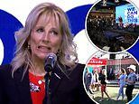 Nashville crowd BOOS after Jill Biden talks low vaccine rates during tour of South