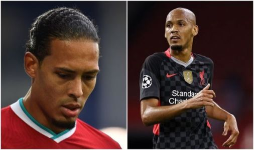 Liverpool star Fabinho lifts lid on Jurgen Klopp private chat about replacing Van Dijk