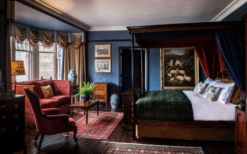 The most romantic hotels in Scotland, from roaring fires and exquisite restaurants to breathtaking scenery