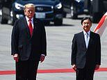Donald Trump becomes first world leader to meet Japan's Emperor Naruhito