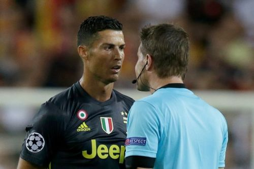Cristiano Ronaldo red card: What Juventus star said to referee after he was sent off against Valencia revealed