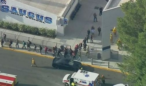 US high school shooting: Six wounded in attack at Saugus High School in Los Angeles