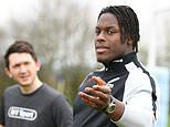 A masterclass with Itoje: When Sportsmail trained with England star