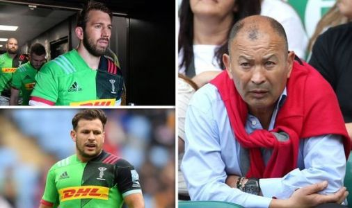 England omit experienced trio for RWC training squad