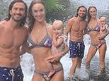The Body Coach Joe Wicks and model fiancée Rosie Jones dote on adorable daughter Indie in Costa Rica
