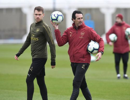 Unai Emery finally explains why he left Aaron Ramsey out of his Arsenal team
