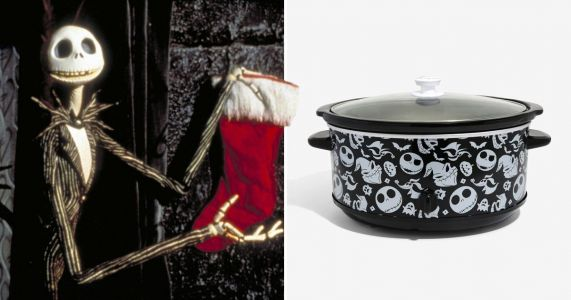 Fancy cooking up a Halloween feast in this Nightmare Before Christmas slow cooker?