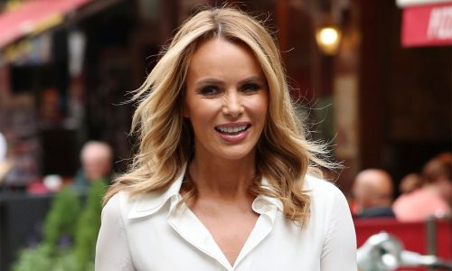 Amanda Holden just made the whole of Instagram want this camel suede skirt