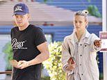 Cody Simpson looks downcast during cafe date with model girlfriend Marloes Stevens