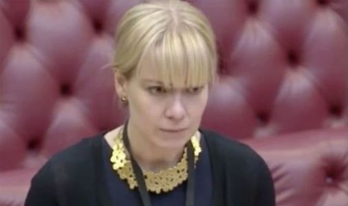 Lords race to help after Baroness Blackwood collapses at dispatch box - 'Going to faint'