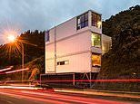 Inside this incredible home built from three shipping containers in Wellington New Zealand
