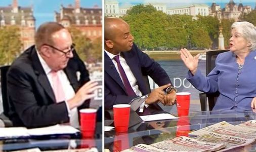 Andrew Neil reminds Chuka Umunna and Ann Widdecombe who is in charge during Brexit clash