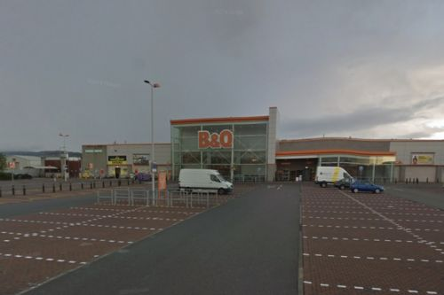Body of man found in car near B&Q store in Inverness