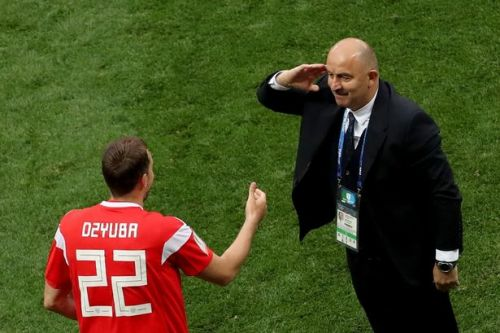 Russia 5-0 Saudi Arabia: Gazinskiy, Dzyuba, Golovin and a Cheryshev double send World Cup 2018 hosts' into goal frenzy