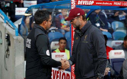 Jurgen Klopp apologises to David Wagner after pragmatic Liverpool eke out ugly win