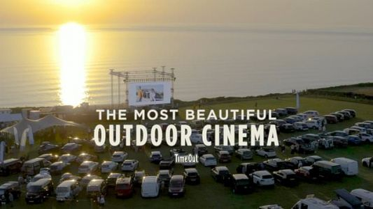 Drive-in cinema on Cornish cliff top offers most incredible views alongside your choice of movie