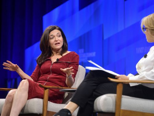Katie Couric pressed Facebook's Sheryl Sandberg on the Me Too movement: 'Do you think 'Lean In' might have put too much of the onus on women to change?'
