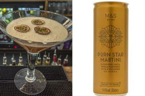 Marks & Spencer is selling porn star martinis in cans - and they're really cheap