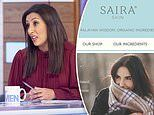 Saira Khan reveals Amazon hackers directed her skincare customers to German sex toy site