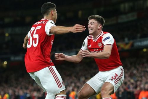 Kieran Tierney hails 'mind-blowing' Arsenal star Gabriel Martinelli