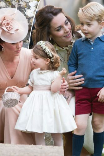 What Prince George and Princess Charlotte are likely to wear to Meghan Markle and Prince Harry's wedding based on pregnant Kate Middleton's previous fashion decisions